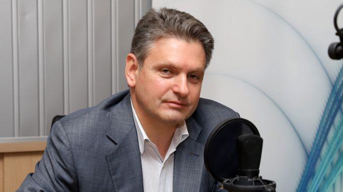 Николай Малинов в студиото на БНР Снимка: Ани Петрова, БНР